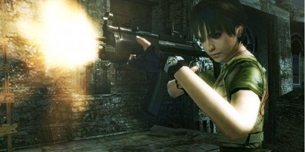 Rebecca em Resident Evil: The Mercenaries 3D