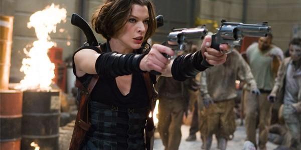 Milla Jovovich em Resident Evil 4: Recomeço