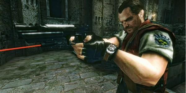 Barry em Resident Evil: The Mercenaries 3D