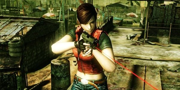 Claire em Resident Evil: The Mercenaries 3D