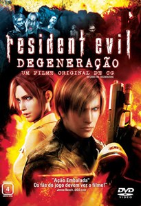 Capa Resident Evil Degeneração