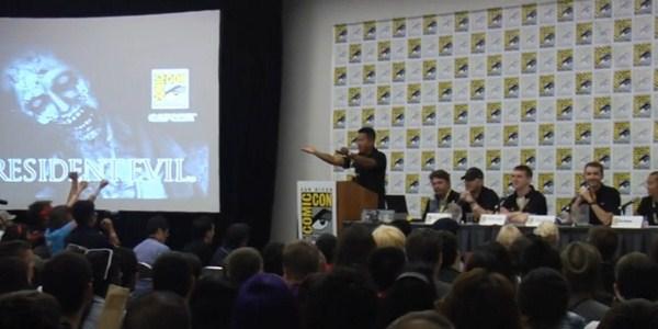 Assista a um trecho da conferência de Resident Evil na Comic-Con