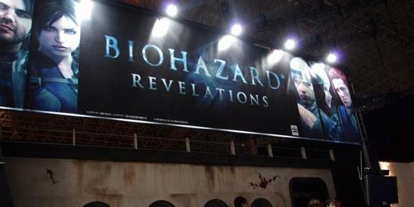 Imagem do estande de Resident Evil: Revelations na Tokyo Game Show