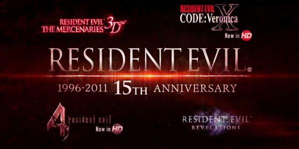15 anos de Resident Evil é comemorado em vídeos
