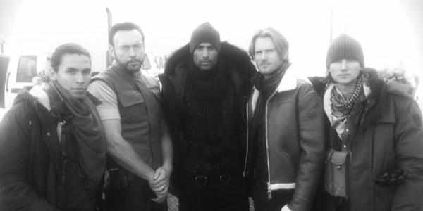 Barry também aparece em foto dos bastidores de Resident Evil: Retribution