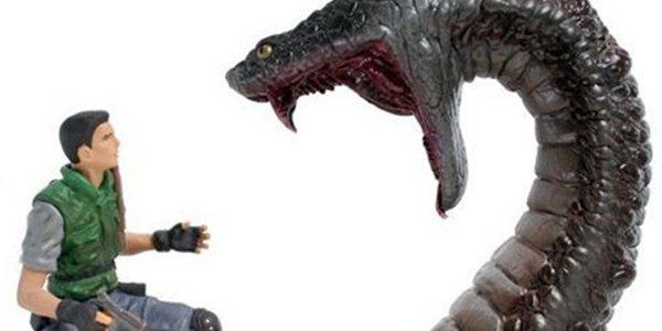 Action figures de Resident Evil da Organic