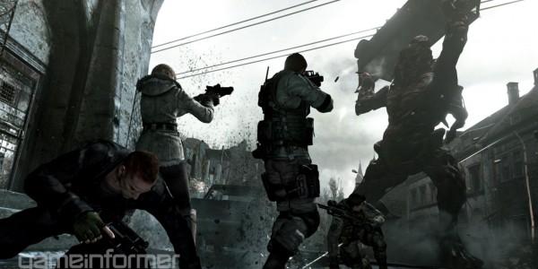 Primeiras imagens do modo Mercenaries de Resident Evil 6