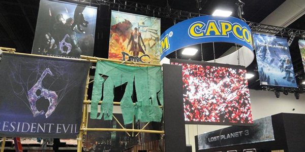 Capcom exibe estande na Comic-Con 2012