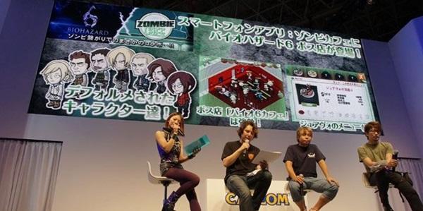 Personagens de Resident Evil 6 estarão em Zombie Café
