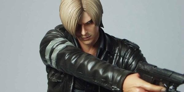 Confira imagens da versão final da action figure de Leon em Resident Evil 6