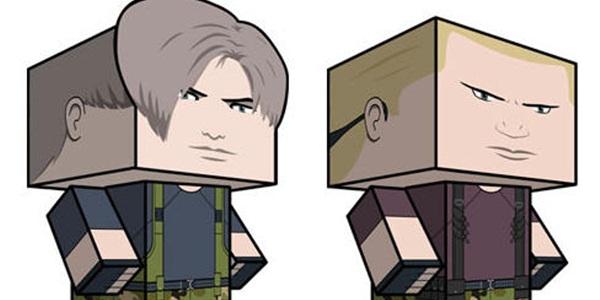 Decore sua mesa com papercrafts de Resident Evil