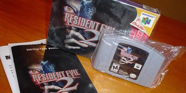 Os milagres de Resident Evil 2 para Nintendo 64