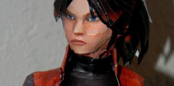 Artista cria papercraft de Resident Evil extremamente realista
