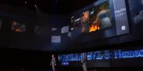 Resident Evil é destaque no anúncio do PlayStation 4