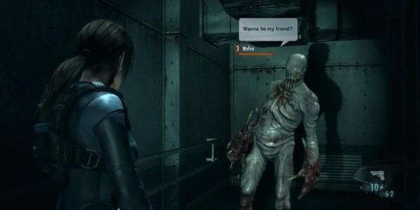 Resident Evil: Revelations está cheio de funções sociais no Wii U