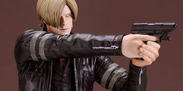 Novas imagens da action figure de Leon em Resident Evil 6