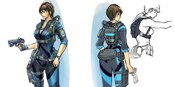Capcom revela artes descartadas de Resident Evil: Revelations