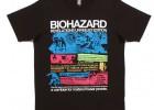 Resident Evil: Revelations terá linha official de camisetas no Japão