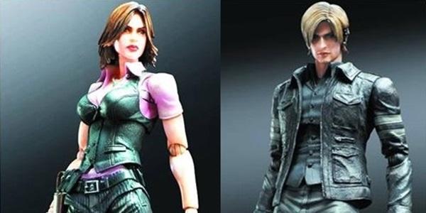 Leon e Helena terão action figures da Square